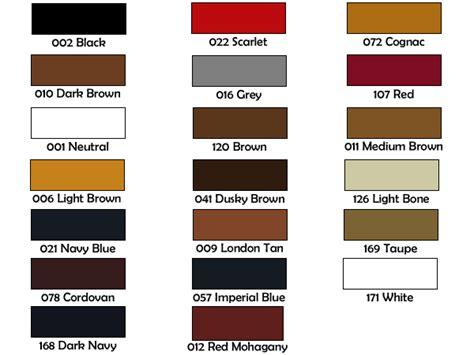 kiwi shoe colors 8 best images of kiwi color chart meltonian shoe