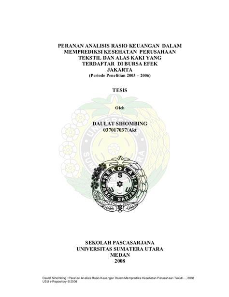 tesis magister akuntansi tesis akuntansi keuangan contoh tesis contoh proposal