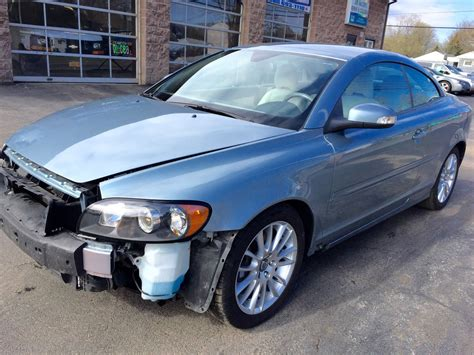auto air conditioning service 2009 volvo c70 parking system 2009 volvo c70 t5 turbo salvage for sale