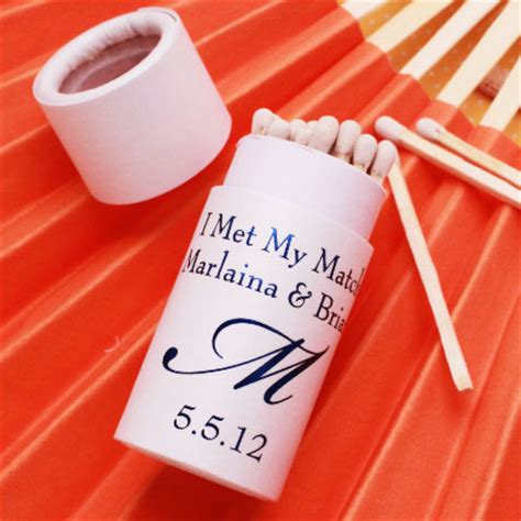 Wedding Favors Matches by Personalized Barrel Wedding Matches Personalized Matches