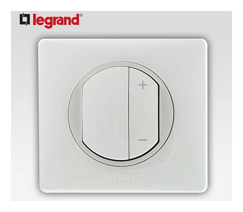 Variateur De Lumiere Legrand 7443 by Interrupteur Variateur 400w Legrand Celiane Blanc Complet