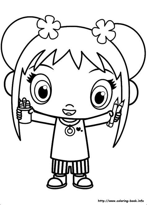 ni hao kai lan coloring pages the toy hub
