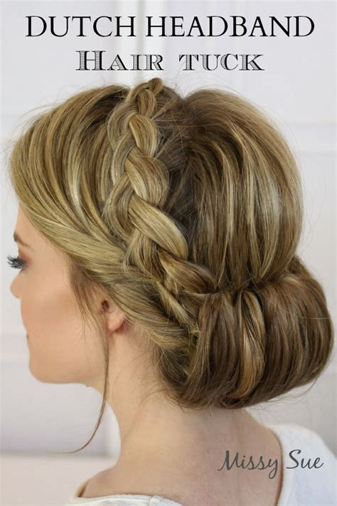 headband braid hairstyles dailymotion 1000 images about hair tutorials on pinterest dutch