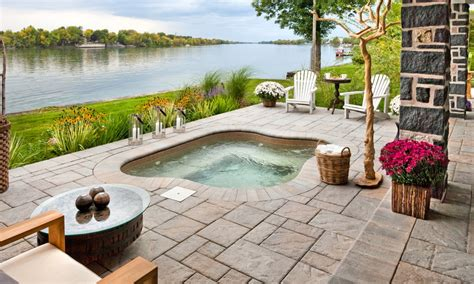patio interior jacuzzi outdoor jacuzzi ideas designs pros and cons a complete