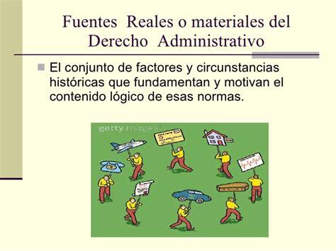 imagenes reales concepto fuentes del derecho administrativo