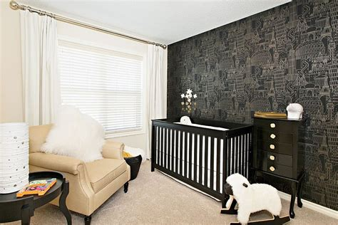 White Nursery Decor 20 Cheerful And Versatile Ways To Use Black In The Nursery