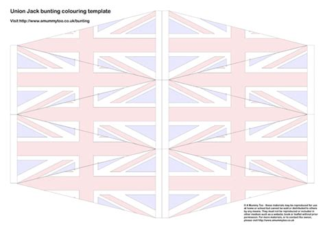 template of union flag to colour flag colouring for imagui
