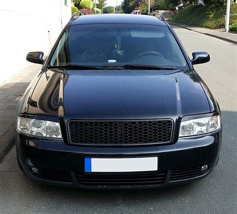 Ersatzteile Audi A6 4b by F 252 R Audi A6 4b C5 Facelift Look Waben Front Grill