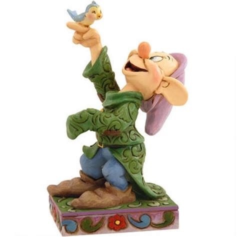 New Official Disney Traditions Seven Dwarfs Happy Figure Figurine 40 17 best images about disney character dopey on