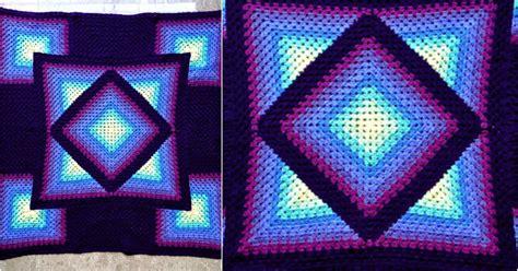 Knit Home Decor by Diamond Granny Crochet Throw Free Pattern Stylesidea