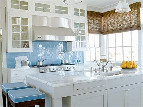 Kitchen Wall Tile Backsplash Ideas by Decoration Coloured Subway Tile For Kitchen Backsplashes