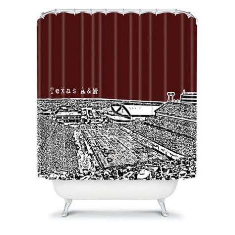 texas a m shower curtain bird ave texas a and m maroon shower curtain home