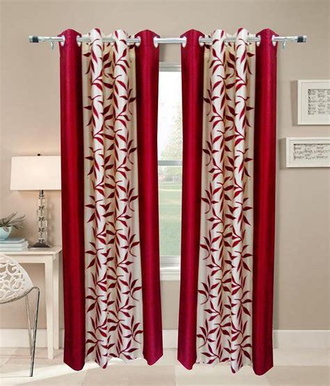 fancy door curtains home sazz marron leaves fancy door curtains set of 4 8