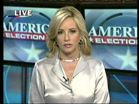 Gretchen Carlson See Through Blouse by Five Magazines Colby Silver Satin Blouse