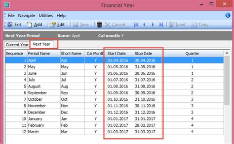 new year date range how to end of financial year in myob exo focus
