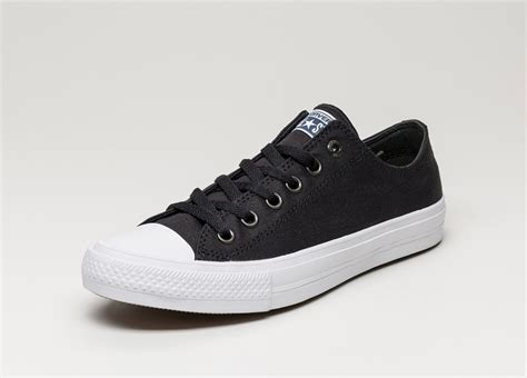 Converse Chuck Ii Black White Import converse chuck all ii ox black white navy asphaltgold