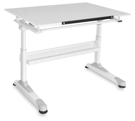 Drafting Table Surface Material Martin Universal Design Motor City Crank Height Table Blick Materials