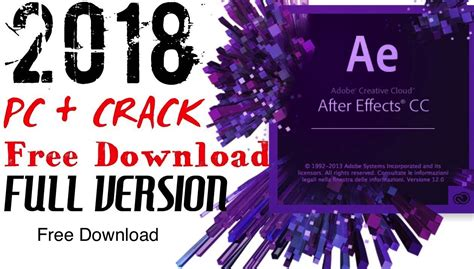 Adobe After Effect Cc 2018 64 Bit Version free adobe after effects cc 2018 sick