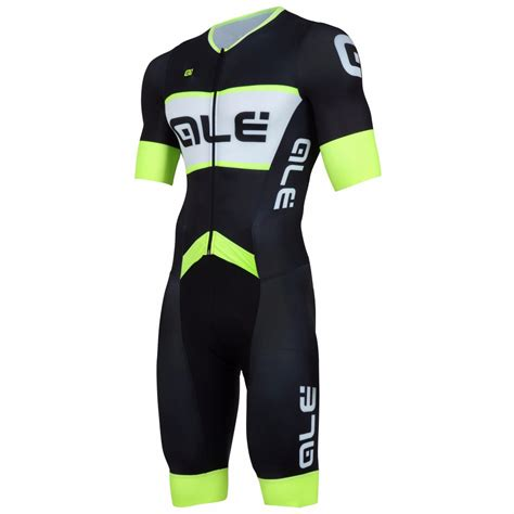 new 2016 fluo yellow team cycling skinsuit s triathlon