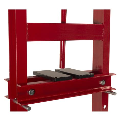 6 ton a frame bench shop press 6 ton shop press with steel press plates hydraulic bottle