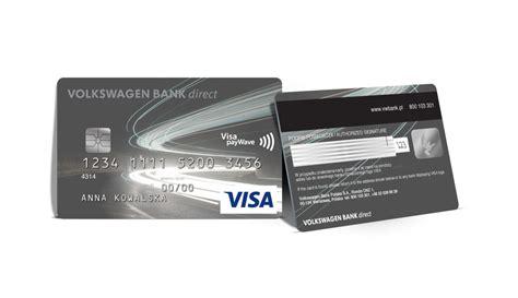 vw direct bank volkswagen bank direct przedstawia nowe karty płatnicze