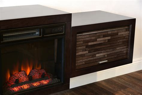 hanging wall mount fireplace tv stand eco geo espresso