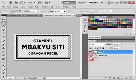 untuk mengatur format huruf adalah cara pasang desain pada mockup format psd belajar coreldraw