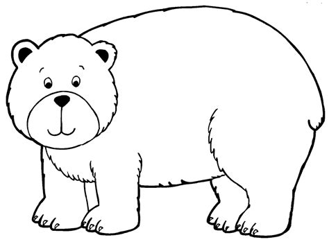 free coloring pages of brown bear brown bear what do you see