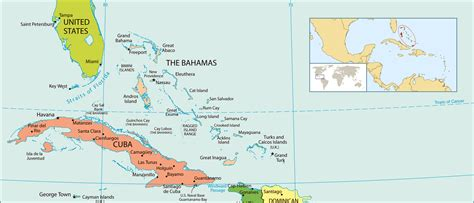 political map of bahamas maps of bahamas map library maps of the world