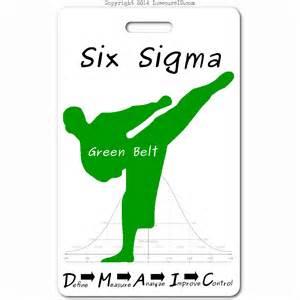 Green Belt Six Sigma Green Belt Id Badge Insecureid