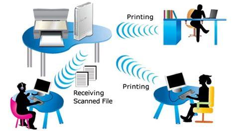 Wifi Biasa mengubah printer biasa menjadi printer wireless bagitekno