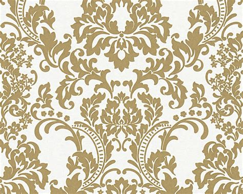 home design gold for pc wallpaper paintable baroque white gold architects paper