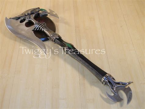 battle axes axe with dagger kx0007 battle axes and mace