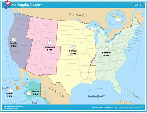map of united states and canada valid us and canada time zone map united states timezone