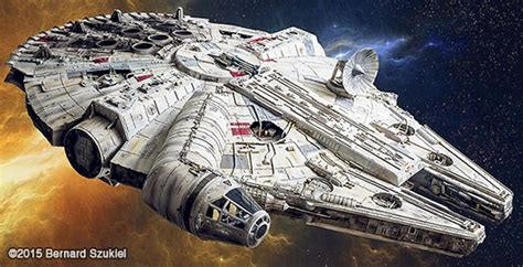 millennium falcon paper model stunning paper model of the millennium falcon sci fi design