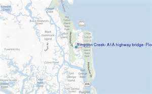 map of a1a in south florida creek a1a highway bridge florida tide station