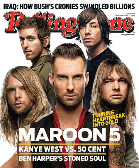 maroon 5 1990s songs rolling stone cover 1034 maroon 5 photo 2007 rolling