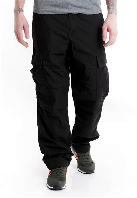 Cargo Pant Black 1 carhartt wip regular cargo columbia ripstop black rinsed streetwear shop impericon