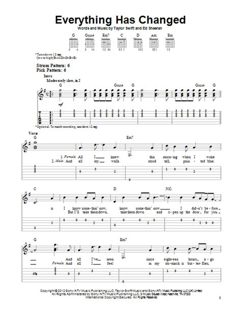 taylor swift everything has changed piano chords everything has changed sheet music by taylor swift easy