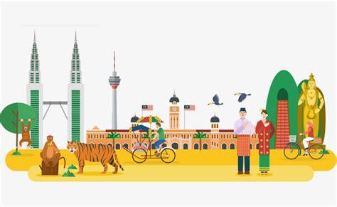 wallpaper cartoon malaysia yellow malaysia attractions yellow malaysia scenic spot