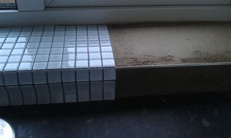 Window Sill Tiles Kitchen Window Requires Tiling Tiling In Harpenden