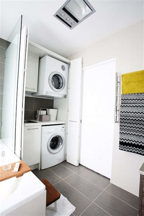 laundry in bathroom 25 best ideas about bathroom laundry on pinterest washing dryer washing machine