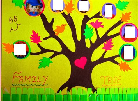 family crafts for family tree craft idea for 6 171 funnycrafts