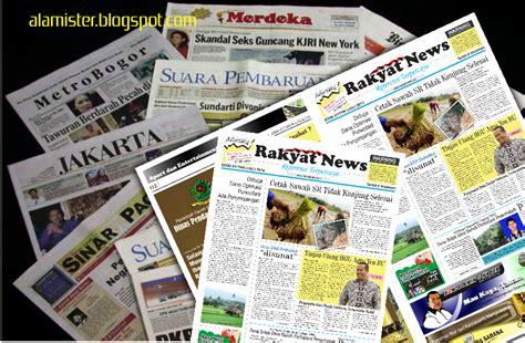 layout koran dengan corel mendesain koran dengan coreldraw alamister