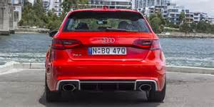 Audi Rs3 Price 2016 Audi Rs3 Sportback Review Caradvice