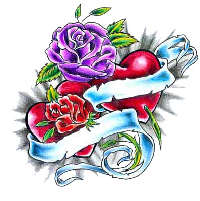heart and rose tattoo design tattoos with names tattoos tattoos