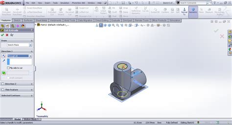 solidworks tutorial blocks tutorial modeling center block universal joint in