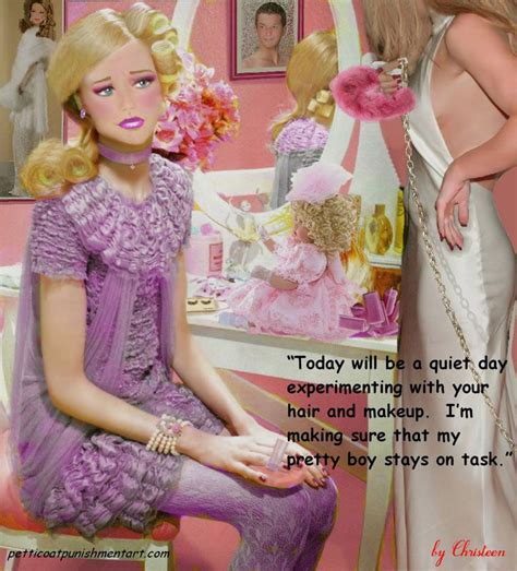 sissy bimbofication makeover permanent makeup sissy punishment at bigcloset or this