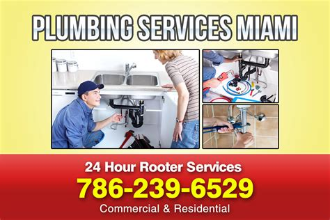 Plumbing Services In Miami by 24 Hour Rooter Services In Miami Fl Plumbing