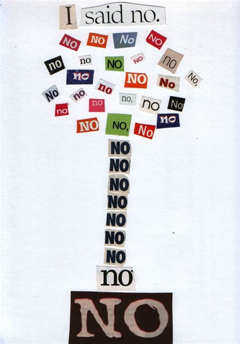 i said no a chickollage how to create collage poetry